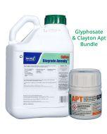 Clayton Apt 50g + Gallup Biograde Amenity 5L - Long lasting residual with glyphosate bundle