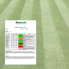 Soil Analysis for Lawns / Amenity Turf