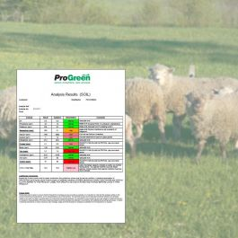 Paddock Soil Analysis for Sheep Grazing - all nutrients