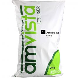 Amvista G1 New Grass 20KG (6-9-6) Use when seeding new grass