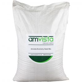 Amvista Economy Grass Seed 10kg -Hard wearing quick growing