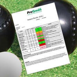 Soil Analysis for Bowling Greens