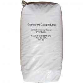 Calcium Calcifert Lime Granules 25KG - Reduces Soil Acidity, safe for horse paddocks & grazing