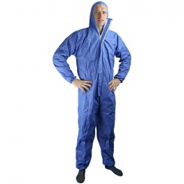 Tyvek Disposable Coverall - Pesticide Grade Type 5/6. Blue