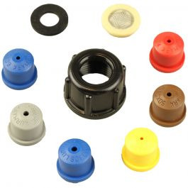 Full Cone Nozzle Pack - pack of 6
