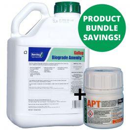 Clayton Apt 50g + Gallup Biograde Amenity 5L - Long lasting & glyphosate bundle