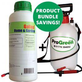 Gallup Home & Garden 1L with 5L Pressure Sprayer Bundle