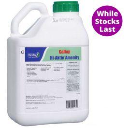 Gallup Hi-Aktiv Amenity Glyphosate 5L - Super Strength - public areas