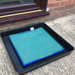 Disinfectant Mat & Tray For Boot/Foot Wash