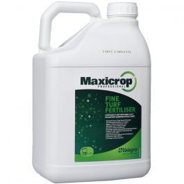 Maxicrop Fine Turf & Lawn Fertiliser No. 4 - 10L with seaweed