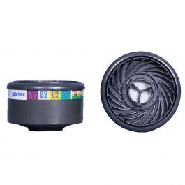 Moldex 9800 A2B2E2K2 GAS & VAPOUR FILTER (1 Pair)