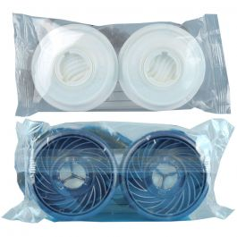 Moldex Filter Bundle 1xPair 9030 + 1xPair 9500 - Gas, Vapour & Particulate Filtering A2B2P3 (Total 2xPairs)
