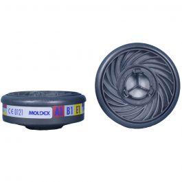 Moldex 9300 A1B1E1 Gas & Vapour Filter (1 Pair)