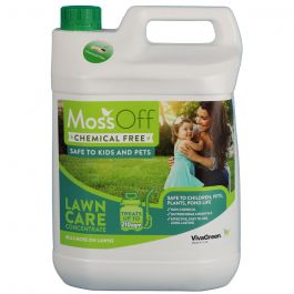 MossOff Lawn 5L-Effective Moss Control for Lawns & Grassland