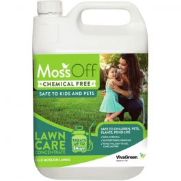 MossOff Lawn 5L-Effective Moss Control for Lawns & Grassland