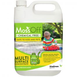 MossOff Multi Surface 5L - Controls Moss & Algae on Hard Surfaces