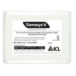 Nemasys G- Biological Control of Chafer Grub - 2 pack sizes
