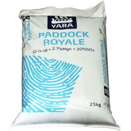 Paddock Royale 25kg (12-11-18) traditional paddock fertiliser with sulphur