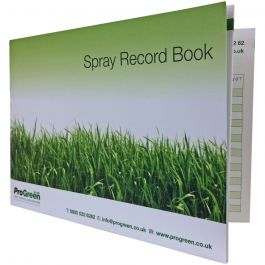 Spray Record Book - Documents Pesticide Applications