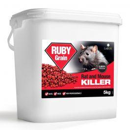 Ruby Grain Rodenticide Sachets 5kg