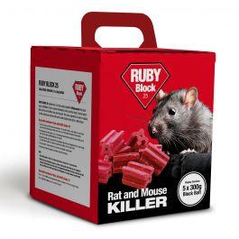 Ruby Blocks 25 Wax Blocks 1.5kg - 50 x 30g