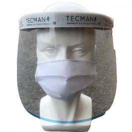 Faceshield + 5x Cotton Mask Bundle