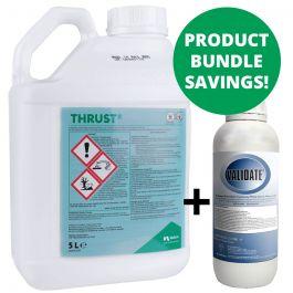 Thrust 5L & Validate 1L Bundle -Improving ragwort & weed control