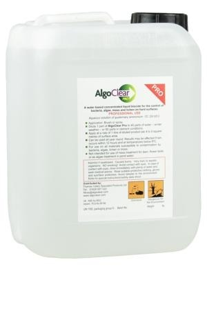 ALGOCLEAR PRO - HARD SURFACE MOSS & ALGAE CLEANER