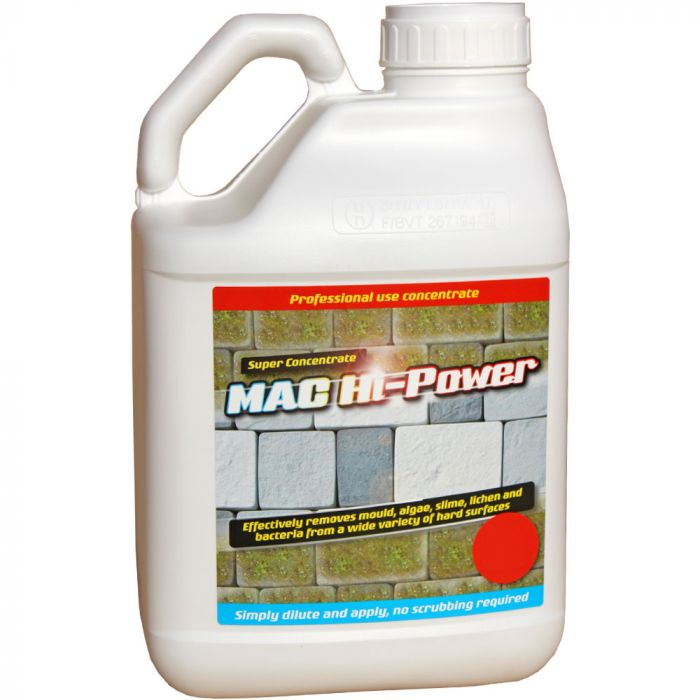 MAC HI POWER - MOSS & ALGAE CLEANER ON HARD SURFACES