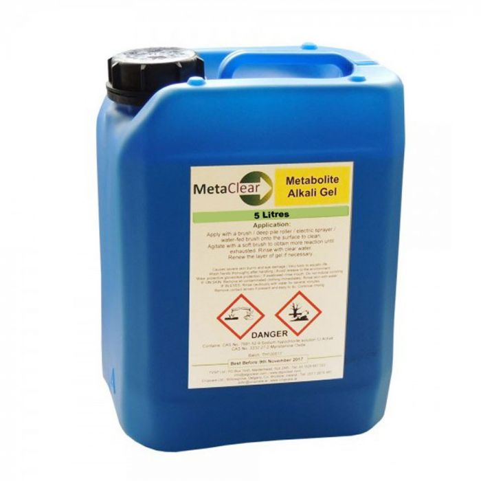 METACLEAR - REMOVES BLACK FUNGAL STAINING ON WALLS, RENDER & MASONRY